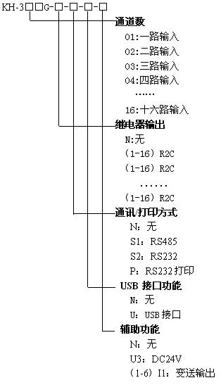 KH300G真彩无纸记录仪